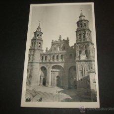 Postales: ALFARO LA RIOJA FACHADA DE LA COLEGIATA DE SAN MIGUEL ARCANGEL. Lote 52559263
