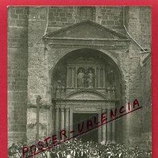 Postales: POSTAL LA RIOJA , ARNEDO , SALIDA DE MISA , IGLESIA DE LOS SANTOS, FOTOGRAFICA ,ORIGINAL , P82691. Lote 52866973