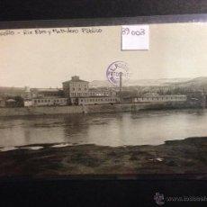Postales: LOGROÑO - RIO EBRO Y MATADERO PUBLICO - FOTOGRAFICA SELLO EN SECO ROISIN - (39003). Lote 52969084