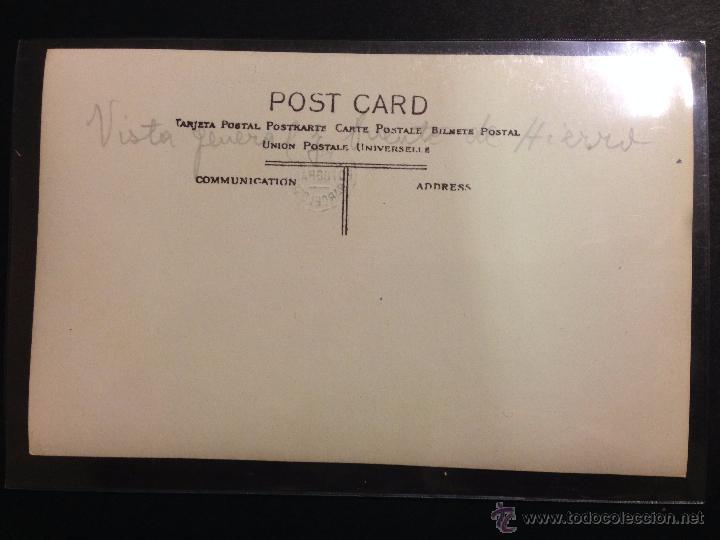 Postales: LOGROÑO - VISTA GENERAL Y PUENTE DE HIERRO - FOTOGRAFICA SELLO EN SECO ROISIN - (39005) - Foto 2 - 52969137