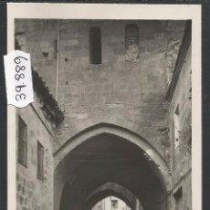 Postales: SANTO DOMINGO DE LA CALZADA - ARCO DEL CRISTO - FOTOGRAFICA - REVERSO EN BLANCO - (39889). Lote 53665170