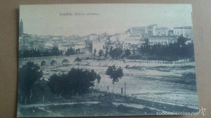 HARO, LOGROÑO, LA RIOJA, VISTA GENERAL. (Postales - España - La Rioja Antigua (hasta 1939))