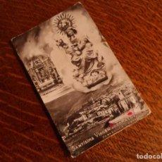 Postales: PRECIOSA COMPOSICIÓN FOTOGRÁFICA FIRMADA POR CARCELLER, VIRGEN DE TÓMALOS, AÑOS 40. Lote 66775570
