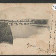 Postales: LOGROÑO - PUENTE DE PIEDRA - 10 - HIJOS DE ALESON -VER REVERSO-(45.686). Lote 69418941