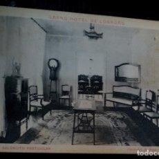 Postais: POSTAL GRAND HOTEL DE LOGROÑO Nº 5 SALONCITO PARTICULAR PHOTO-ART. R. SAUS. Lote 72367615
