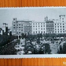 Postales: ANTIGUA POSTAL JARDINES DEL PASEO DE EL ESPOLON, LOGROÑO LA RIOJA. Lote 78046849
