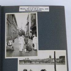 Postales: 2 FOTOGRAFIAS DE LOGROÑO, MIDEN 13 X 9,2 CMS. FECHADAS EN ABRIL DE 1959 CON MOTIVO DE LA CAMAPAÑA DE. Lote 87485988