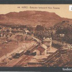 Postales: HARO - ESTACIÓN DEL FERROCARRIL HARO-EZCARAY - P21550. Lote 90224924