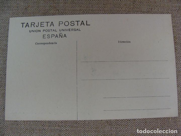 Postales: LOGROÑO PUENTE DE PIEDRA Y LAVADEROS. LIBRERÍA HIJOS DE MERINO. FOT. MURO. SIN CIRCULAR - Foto 3 - 90750715