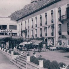 Postales: POSTAL LA RIOJA - BALNEARIO DE ARNEDILLO 3 - HOTEL DEL BALNEARIO - GARRABELLA - CIRCULADA. Lote 95186075