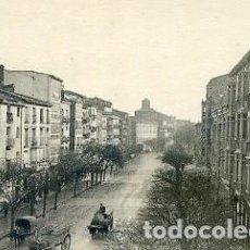 Postales: POSTAL FOTOGRAFICA LOGROÑO CALLE BRETON DE LOS HERREROS EDITADO POR ROISIN. Lote 95723207