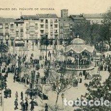 Postales: POSTAL LOGROÑO PASEO DEL PRINCIPE DE VERGARA EDITADO POR HIJOS DE ALESON . Lote 95723395
