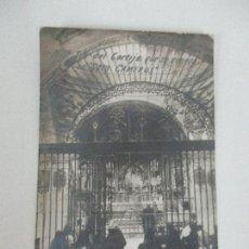 Postales: POSTAL - NTRA SRA DEL CORTIJO QUE SE VENERA EN SOTO CAMEROS (LA RIOJA) - FOTO ALSINA - CIRCULADA. Lote 96053431