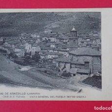 Postales: POSTAL TERMAS DE ARNEDILLO (LOGROÑO) Nº 1BIS, VISTA GENERAL DEL PUEBLO (MITAD IZQUIERDA).. R-6987. Lote 96143403
