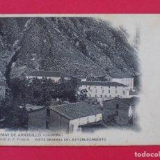 Postales: ANTIGUA POSTAL TERMAS DE ARNEDILLO (LOGROÑO) Nº 4, VISTA GENERAL DEL ESTABLECIMIENTO... R-6989. Lote 96144115