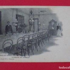 Postales: ANTIGUA POSTAL TERMAS DE ARNEDILLO (LOGROÑO) Nº 7, COMEDOR DE PRIMERA... R-6991. Lote 96145375