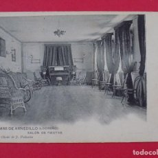 Postales: ANTIGUA POSTAL TERMAS DE ARNEDILLO (LOGROÑO) Nº 8, SALON DE FIESTAS... R-6992. Lote 96145479