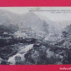 Postales: ANTIGUA POSTAL ESTABLECIMIENTO BALNEARIO DE ARNEDILLO (LOGROÑO)- VISTA GENERAL DE LA VILLA.. R-6998. Lote 96177283