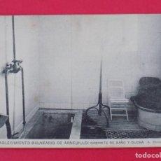 Postales: ANTIGUA POSTAL ESTABLECIMIENTO BALNEARIO DE ARNEDILLO (LOGROÑO)-GABINETE DE BAÑO Y DUCHA .. R-6999. Lote 96177347