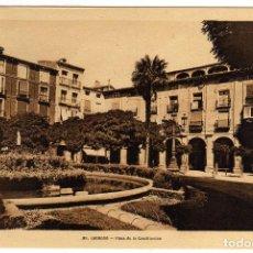 Postales: BONITA POSTAL - LOGROÑO - PLAZA DE LA CONSTITUCION . Lote 97418487