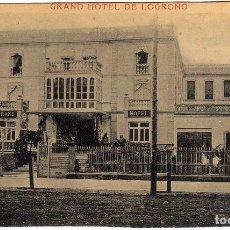 Postales: BONITA POSTAL - LOGROÑO - GRAND HOTEL DE LOGROÑO - FACHADA. Lote 97705883