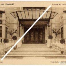 Postales: PRECIOSA POSTAL - GRAND HOTEL DE LOGROÑO - ENTRADA DEL HOTEL . Lote 97709203
