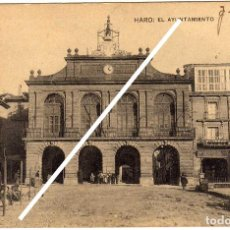 Postales: BONITA POSTAL - HARO (LA RIOJA) - EL AYUNTAMIENTO . Lote 97725807