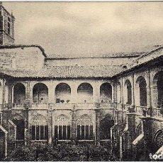 Postales: POSTAL DE NAJERA (LA RIOJA) - SANTA MARIA LA REAL - VISTA GENERAL DEL CLAUSTRO . Lote 97728843