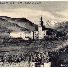 Postales: BONITA POSTAL - SAN MILLAN DE LA COGOLLA (LA RIOJA) - VISTA PANORAMICA DEL MONASTERIO. Lote 97731895