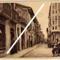 Postales: PRECIOSA POSTAL - SANTO DOMINGO DE LA CALZADA (LA RIOJA) - CALLE DE VILLANUEVA . Lote 97733379