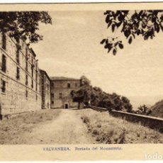 Postales: BONITA POSTAL - VALVANERA (LA RIOJA) - PORTADA DEL MONASTERIO . Lote 97733951