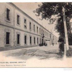 Postales: LOGROÑO - CUARTELES DEL GENERAL URRUTIA - LIBRERÍA MORENA, MARTÍNEZ Y RUIZ . Lote 99764647