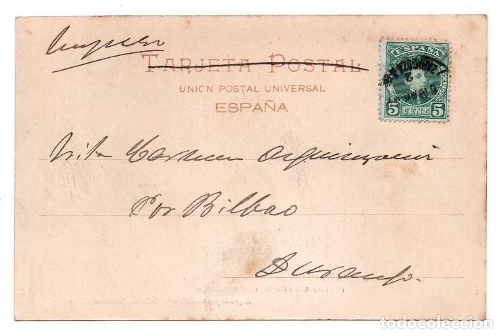 Postales: LOGROÑO.- TEATRO BRETÓN DE LOS HERREROS - LIBRERÍA MORENA, MARTÍNEZ Y RUIZ - Foto 2 - 99764899