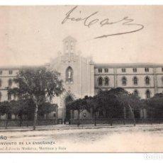 Postales: LOGROÑO - CONVENTO DE LA ENSEÑANZA - LIBRERÍA MORENA, MARTÍNEZ Y RUIZ. Lote 99765171