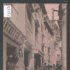 Postales: CERVERA DEL RÍO ALHAMA - CALLE MAYOR - P23237. Lote 100528051