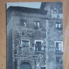Postales: HARO. CASA ANTIGUA. EJG PARIS IRÚN. REVERSO SIN DIVIDIR.. Lote 103769975