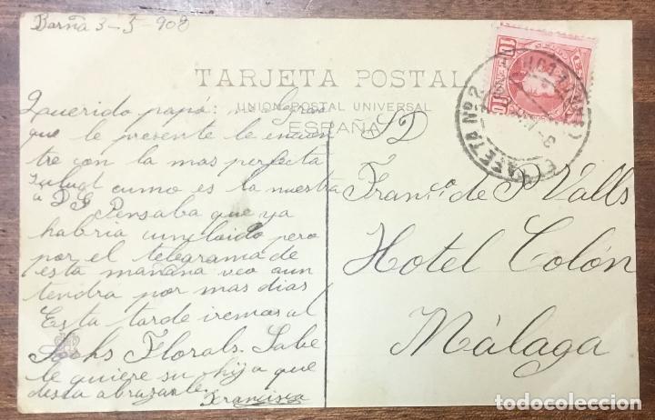 Postales: LOGROÑO. CALLE DE SAGASTA. (ED. HIJOS DE ALESON, II SERIE Nº 9) - Foto 2 - 104080567