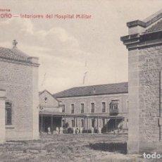 Postales: POSTAL. LOGROÑO. INTERIORES DEL HOSPITAL MILITAR. CIRCULADA CON SELLO EN 1922. LA RIOJA. Lote 104592555