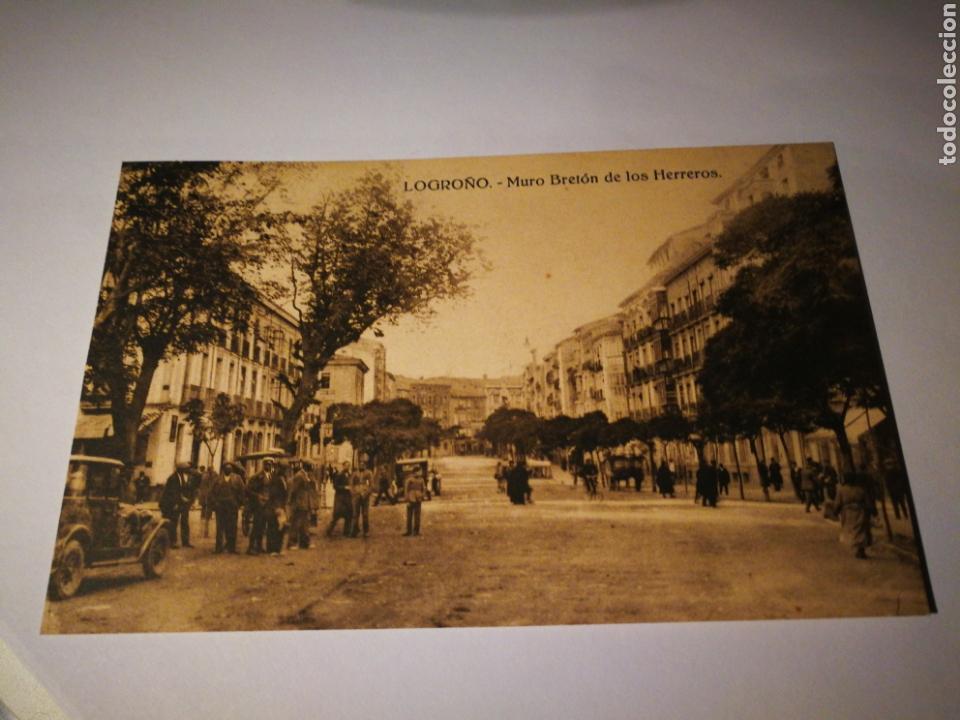 MURCIA. MURO BRETON DE LOS HERREROS. SIN CIRCULAR (Postales - España - La Rioja Antigua (hasta 1939))