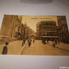 Postales: LOGROÑO. CALLE DEL MERCADO. SIN CIRCULAR. Lote 105687376