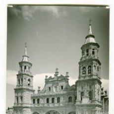 Postales: ALFARO LA RIOJA - FACHADA IGLESIA DE SAN MIGUEL- -EDICIONES MONTAÑES-. Lote 107446411