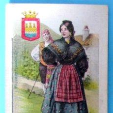 Postales: MUJERES ESPAÑOLAS. LA RIOJA, LOGROÑO, Nº 27. EDITORIAL SATURNINO CALLEJA. ANTERIOR A 1906.. Lote 107981759
