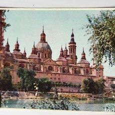 Postales: POSTAL NUEVA - ZARAGOZA - TEMPLO DEL PILAR Y RIO EBRO. Lote 110427059
