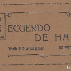 Postales: COLECCIÓN DE 25 POSTALES RECUERDO DE HARO. IMP. DE VIELA, HARO. . Lote 113159511