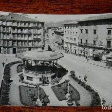 Postales: FOTO POSTAL DE HARO, PLAZA DE LA PAZ (KIOSCO), ED. PARIS J. M. , SIN CIRCULAR. Lote 114376991