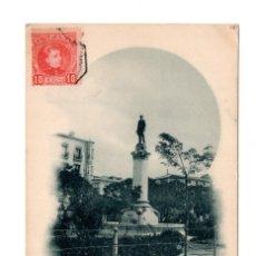 Postales: LOGROÑO. ESTATUA DE SAGASTA. (ED. HIJOS DE ALESON). Lote 122167107