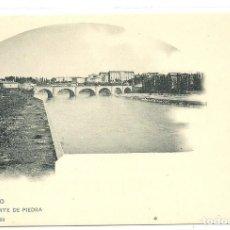 Postais: (PS-56148)POSTAL DE LOGROÑO-PUENTE DE PIEDRA.HIJOS DE ALESON. Lote 122205519