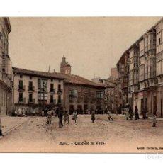 Postales: HARO. LA RIOJA.- CALLE DE LA VEGA. Lote 122312431