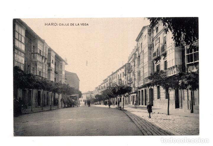 HARO. LA RIOJA.- CALLE DE LA VEGA. (Postales - España - La Rioja Antigua (hasta 1939))