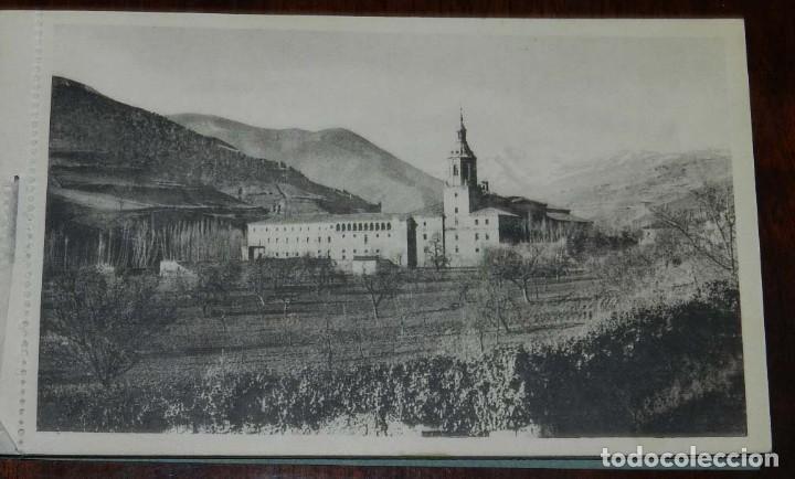 Postales: SAN MILLAN DE LA COGOLLA (LOGROÑO) CUADERNILLO DE 1O POSTALES DEL MONASTERIO (EL ESCORIAL DE LA RIOJ - Foto 2 - 122581247
